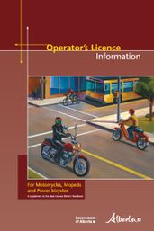 Operator's Licence Information for motorcycles, mopeds and power bicycles